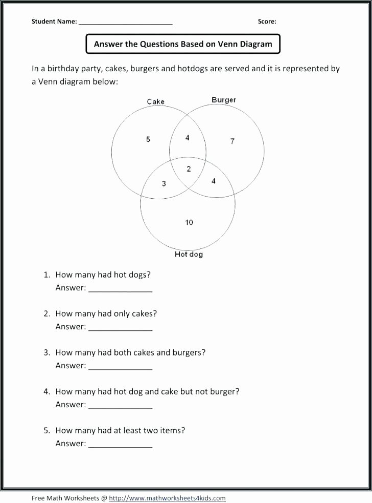 Theoretical Probability Worksheet with Answers Statistics and Probability Worksheets Free Grade 8 Third 4