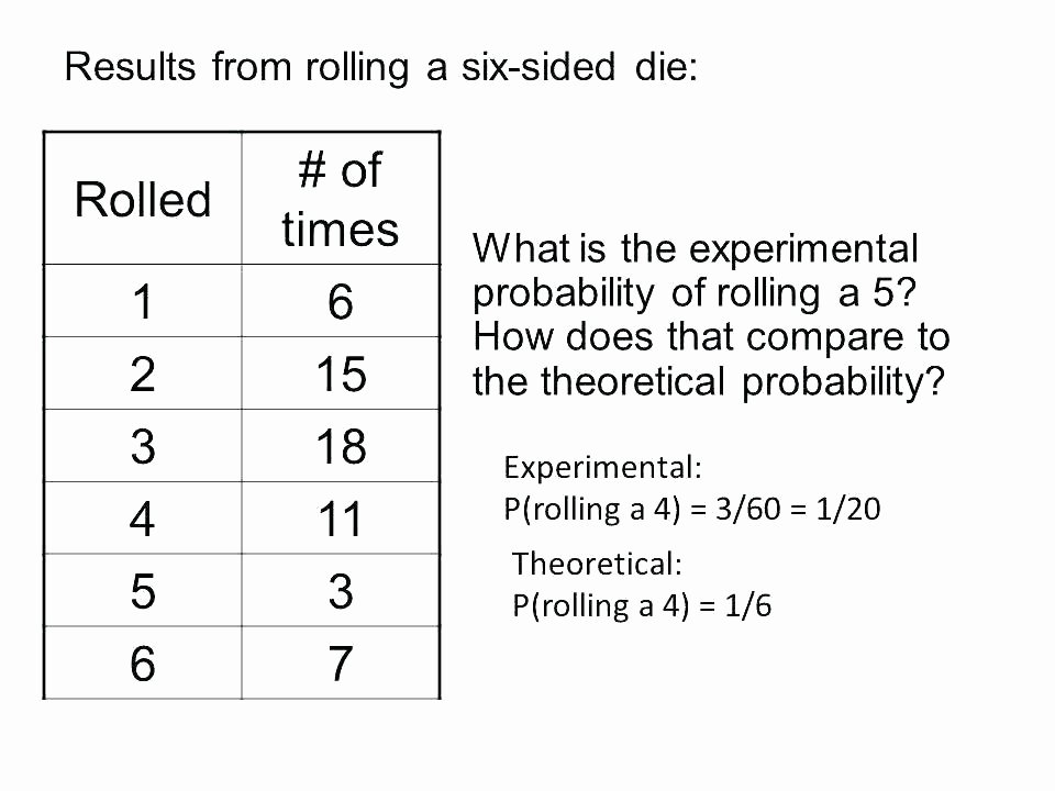 Theoretical Probability Worksheets with Answers Grade 9 Math Worksheets and Problems Data Handling