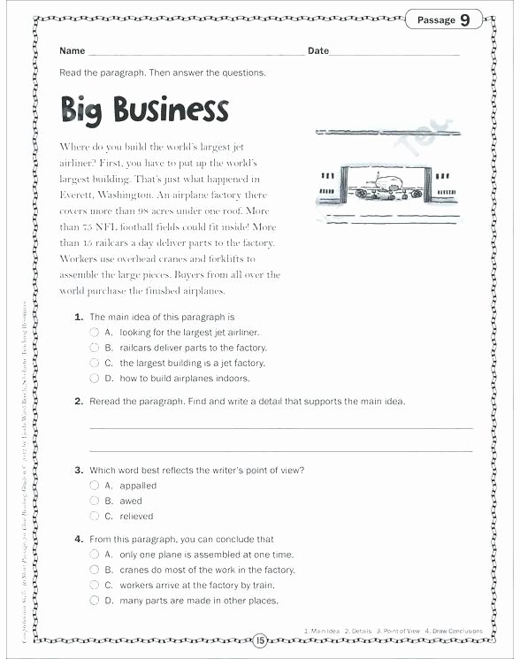 Third Grade Editing Worksheets Free Printable 5th Grade Writing Worksheets