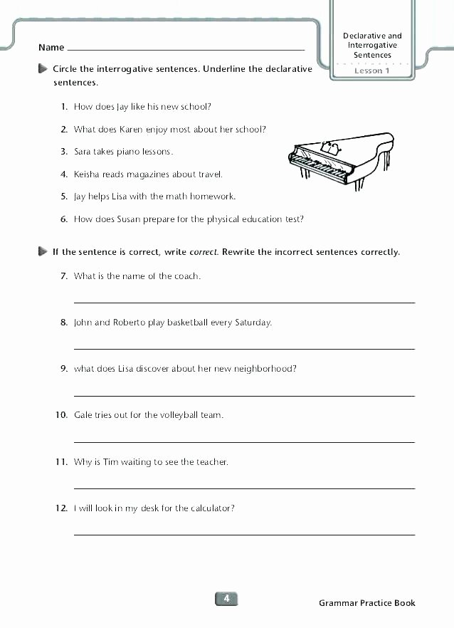 Third Grade Editing Worksheets Proofreading Worksheet Worksheets for Kindergarten and