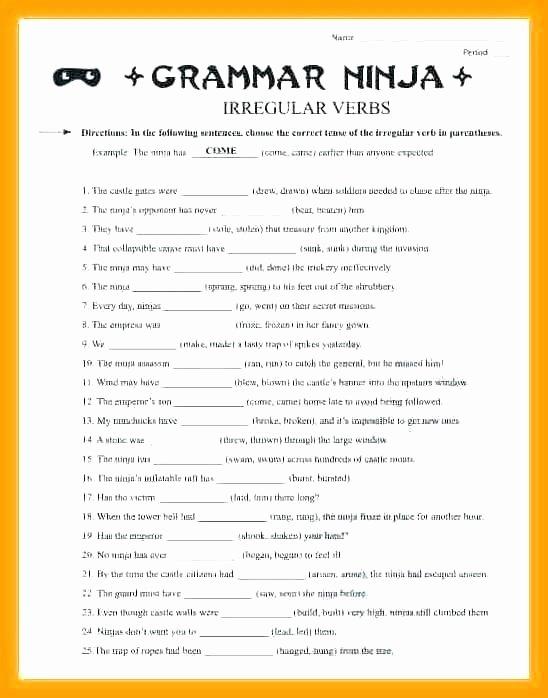 Third Grade Grammar Worksheets 3rd Grade English Grammar Worksheets Pdf