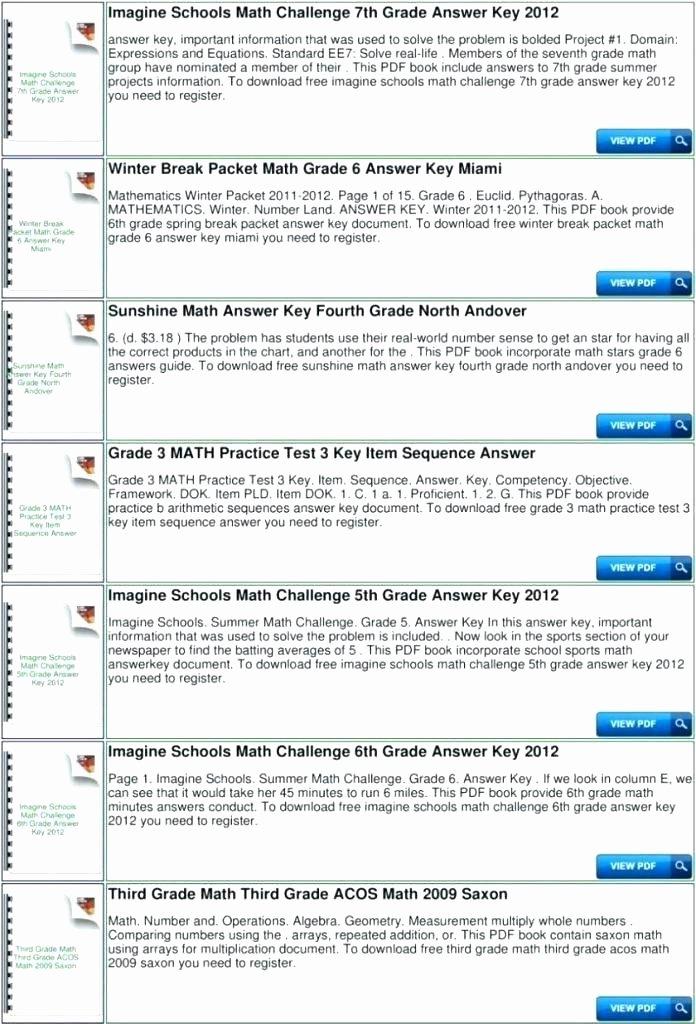 Third Grade Math Minutes Pdf Minute Math Worksheets 7th Grade