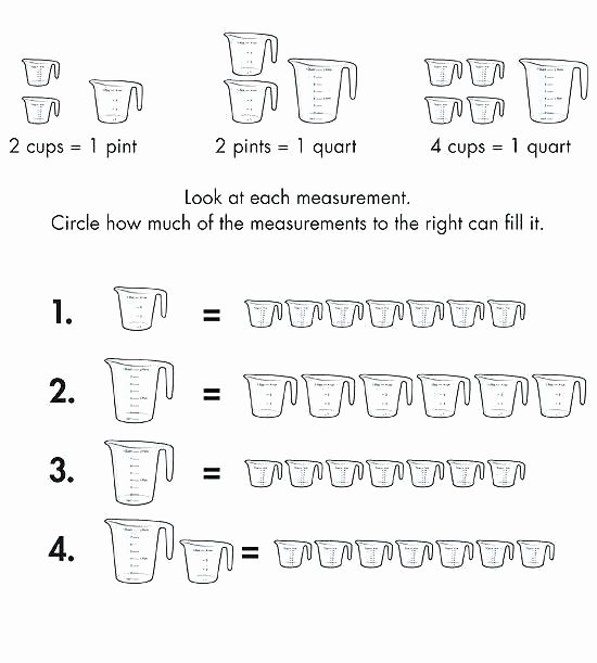 Third Grade Measurement Worksheets Fourth Grade Measurement Worksheets Printable Math and