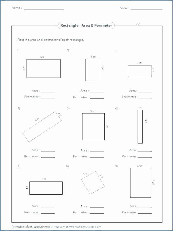 Third Grade Perimeter Worksheets Free Perimeter Worksheets