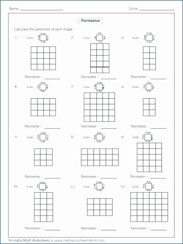 Third Grade Perimeter Worksheets Perimeter Worksheets 3rd Grade