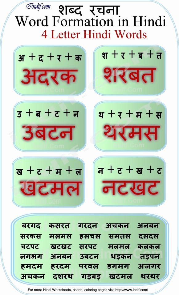 Three Letter Words In Hindi Darshan Patel Pateldarshan010 On Pinterest