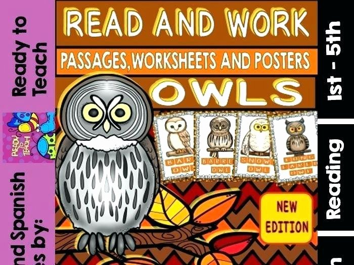 Three Little Pigs Worksheets Owl Reading Prehension Worksheets – Onlineoutlet