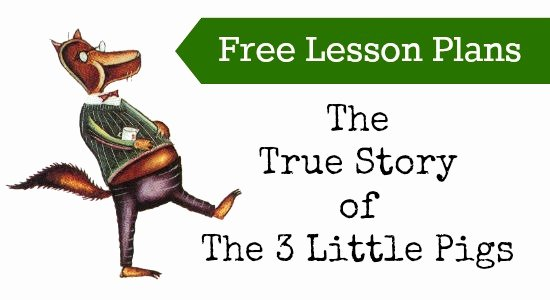 Three Little Pigs Worksheets Story Lesson Plan