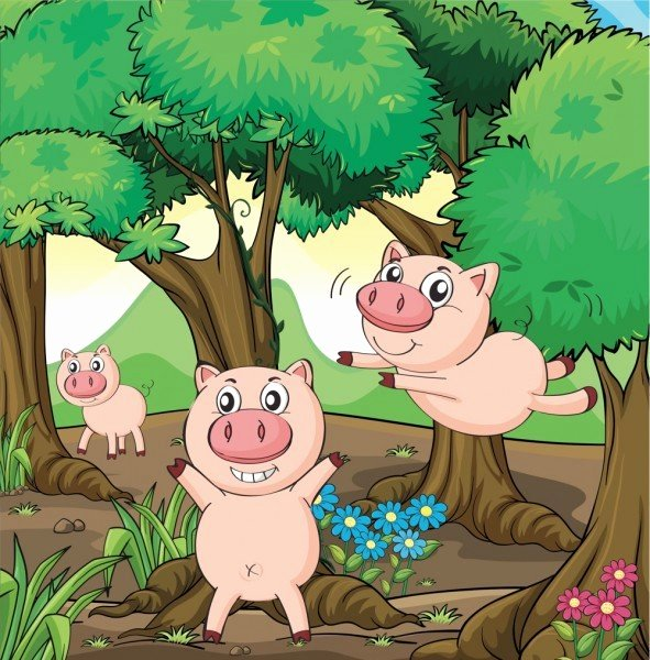 Three Little Pigs Worksheets the Three Little Pigs Storynory