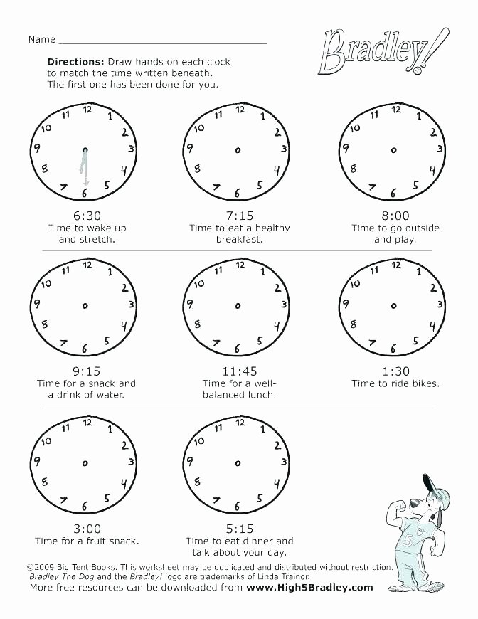 Time and Measurement Worksheets Maths Worksheets Time Free Grade Math with Answer Key Clock