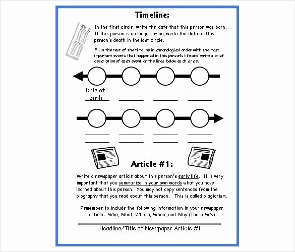 Timeline Worksheets for Middle School 2nd Grade Timeline Worksheets