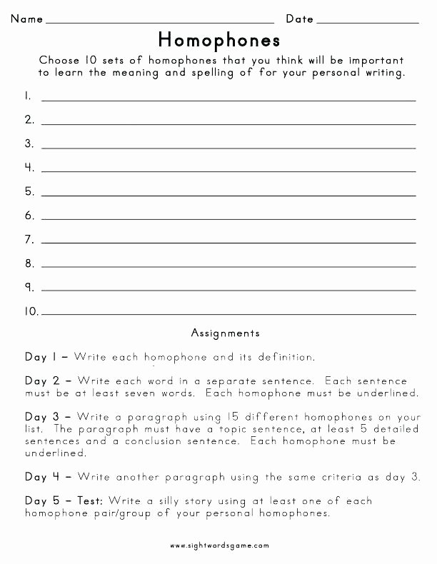 Topic Sentence Worksheet 2nd Grade Correct the Sentence Capitalization and Punctuation