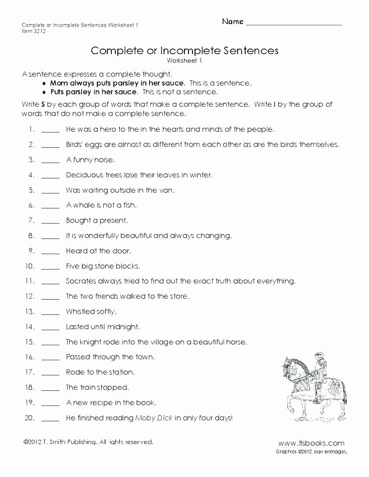 Topic Sentence Worksheets 4th Grade Number Sentence Worksheets 4th Grade Third Editing