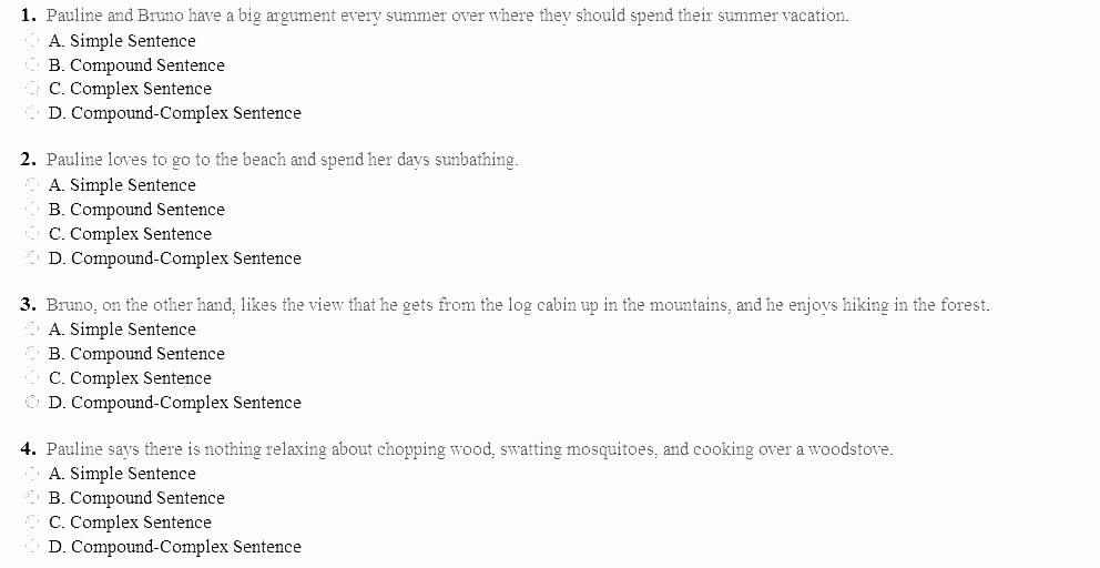 Topic Sentence Worksheets 5th Grade Pound Sentence Simple Sentences and Plex Sentences