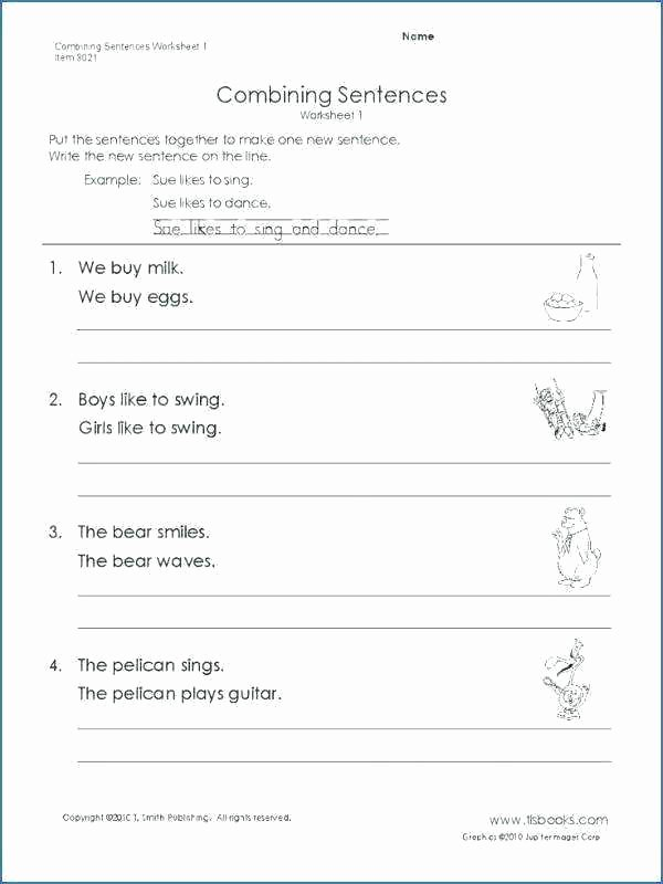 Topic Sentence Worksheets 5th Grade Pound Sentences Worksheets 5th Grade