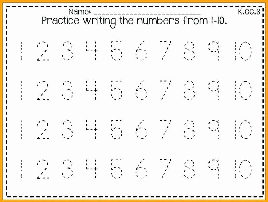 Tracing Number Worksheets 1 20 Number 1 10 Worksheets – Akasharyans
