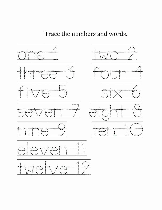 Tracing Number Worksheets 1 20 Number Five Worksheets – Propertyrout