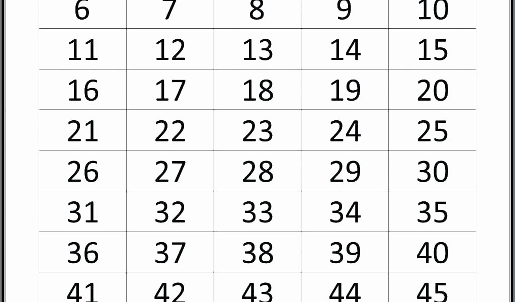 Tracing Number Worksheets 1 20 Writing Numbers 1 20 Printable Worksheets