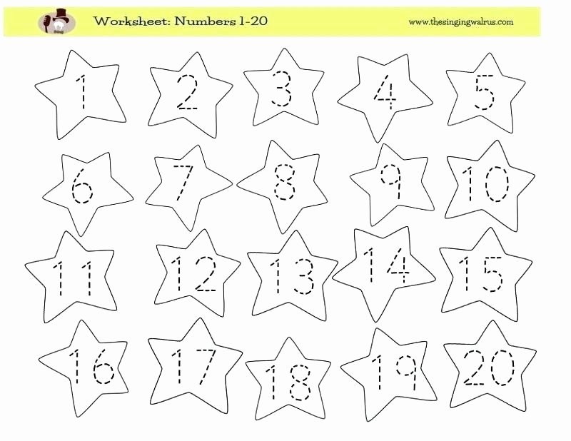Tracing Numbers 1 100 Worksheets Counting to Kindergarten Worksheets A Wellspring Math