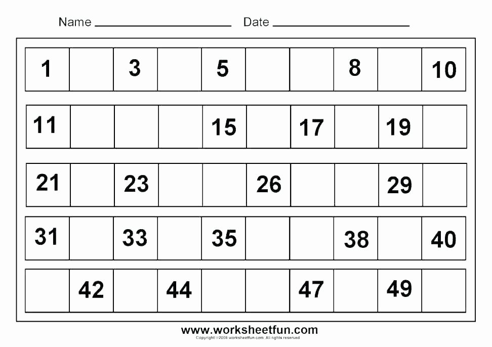 Tracing Numbers 1 20 Printable Pre K Number Tracing Worksheets