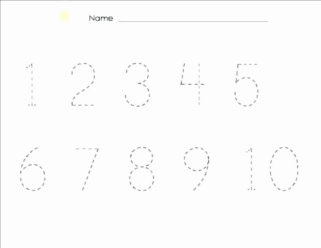 Tracing Numbers Pdf Dotted Line Alphabet Worksheets