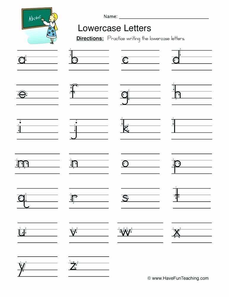Tracing Numbers Pdf Lowercase Letters Writing Worksheet Uppercase Letter Tracing