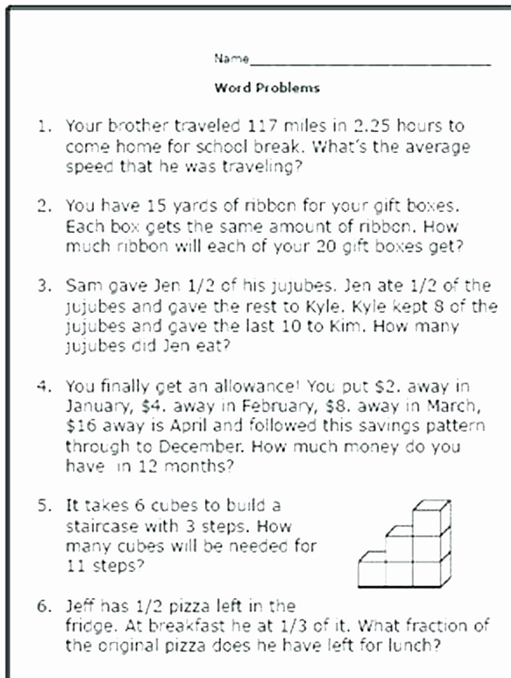 Trade First Subtraction Worksheet First Grade Word Problems Worksheets