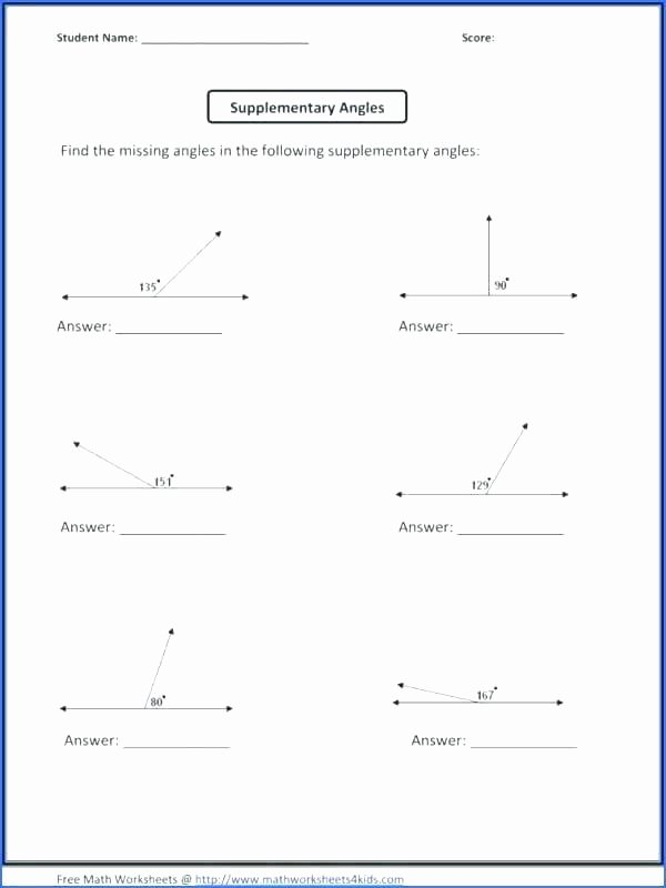 Transformation Math Worksheets Free Printable Math Worksheets for Angles – ashafrance