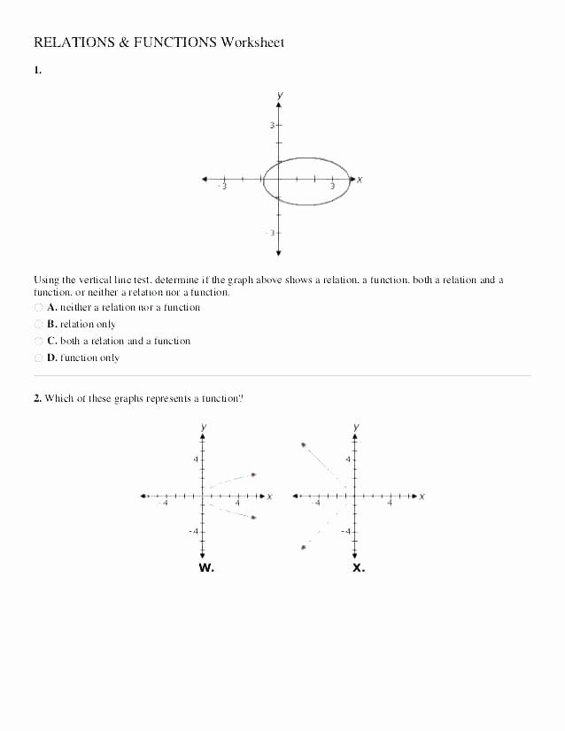 Transformations Math Worksheets Algebra Functions Worksheets – Eurotekinc