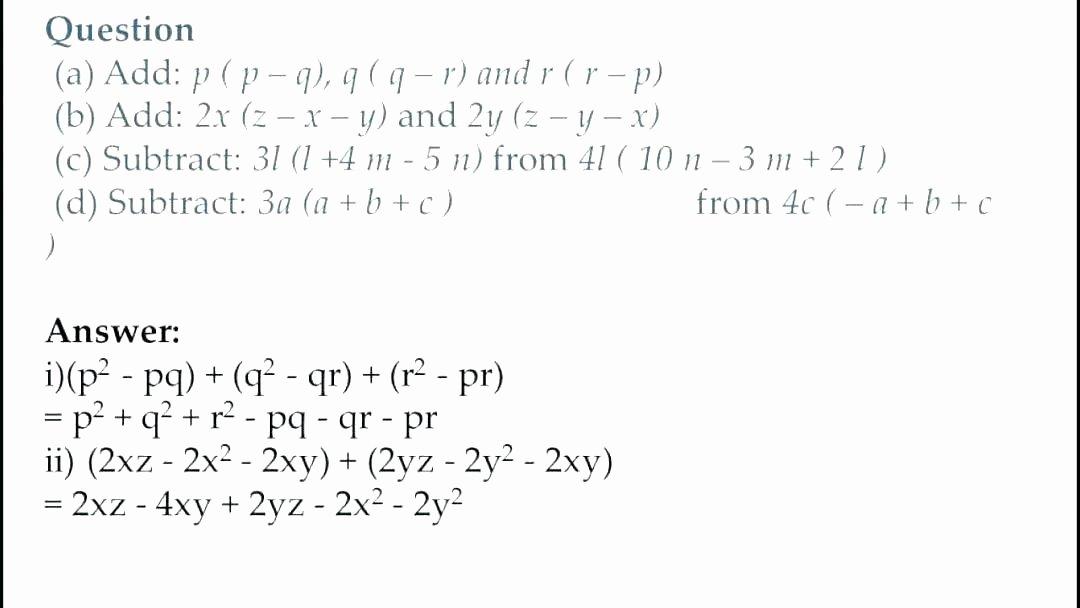 Translating Words to Expressions Worksheet Algebraic Expressions Worksheets with Answers