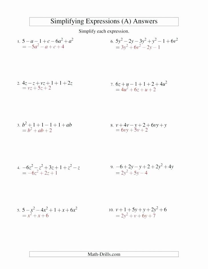 Translating Words to Expressions Worksheet Math Expressions Grade 4 Worksheets