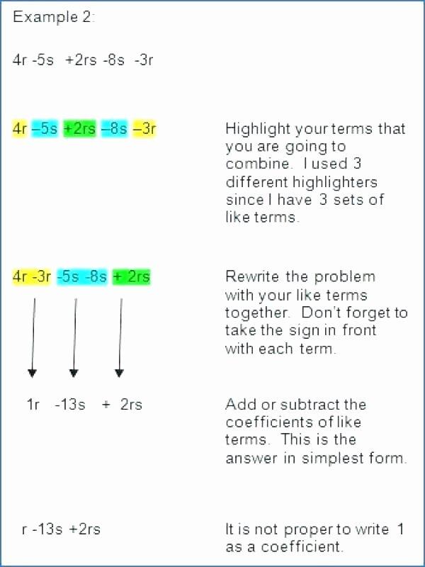 Translating Words to Expressions Worksheet Translate Algebraic Expressions Worksheet Math – Lupitablogub