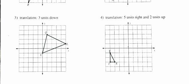 Translation In Geometry Worksheets Translation Math Worksheets – Benaqiba