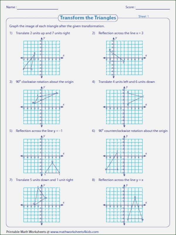 Translation In Geometry Worksheets Translation Worksheet