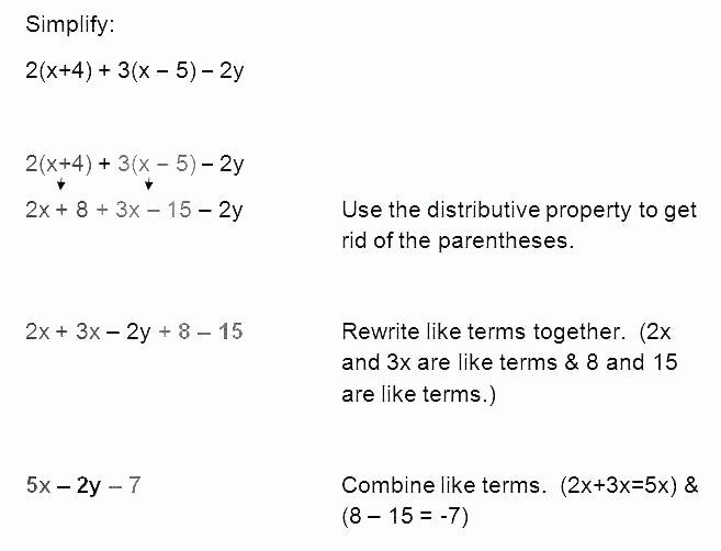 Translation Math Worksheet Pdf Algebraic Expressions and Equations Worksheets