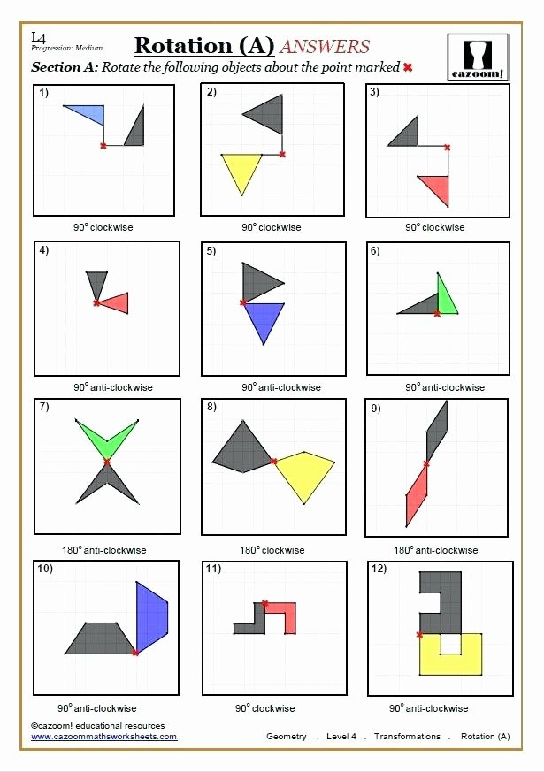 Translation Math Worksheets July 2018 – thenewheightsub