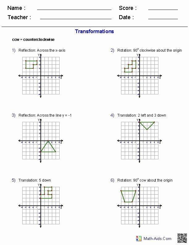 Translation Math Worksheets Math Dilations Worksheet – Math Worksheets