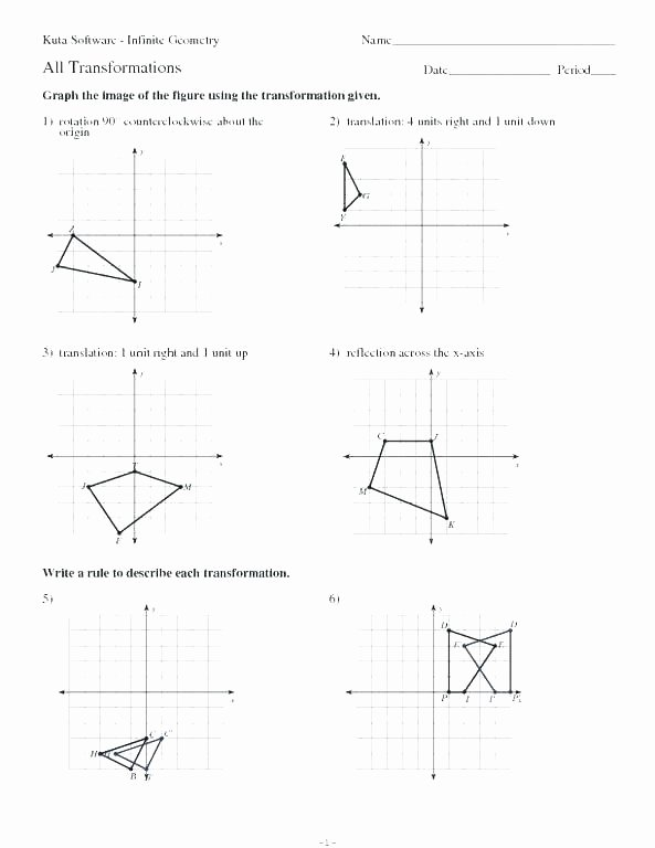 Translation Worksheets Geometry Math Geometry Worksheets Naming Angles 8th Grade Math