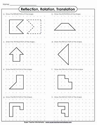 Translation Worksheets Math Identifying Transformations Worksheet Math Practice
