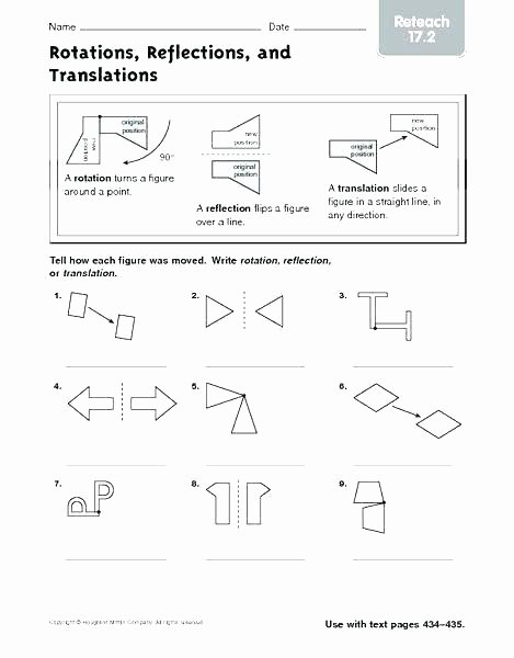 Translations Geometry Worksheets 5th Grade Geometry Worksheets Grade Geometry Worksheet