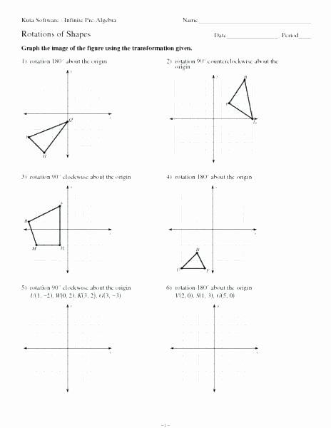 Translations Geometry Worksheets Grade 6 Math Geometry Rksheets Algebra for Year
