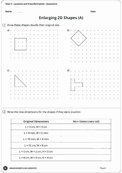 Translations Math Worksheets Multi Step Translations Geometry Worksheets Free Math Grade