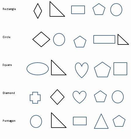 Triangle Worksheet for Kindergarten Free Shapes Worksheets for Kindergarten & Free Shape