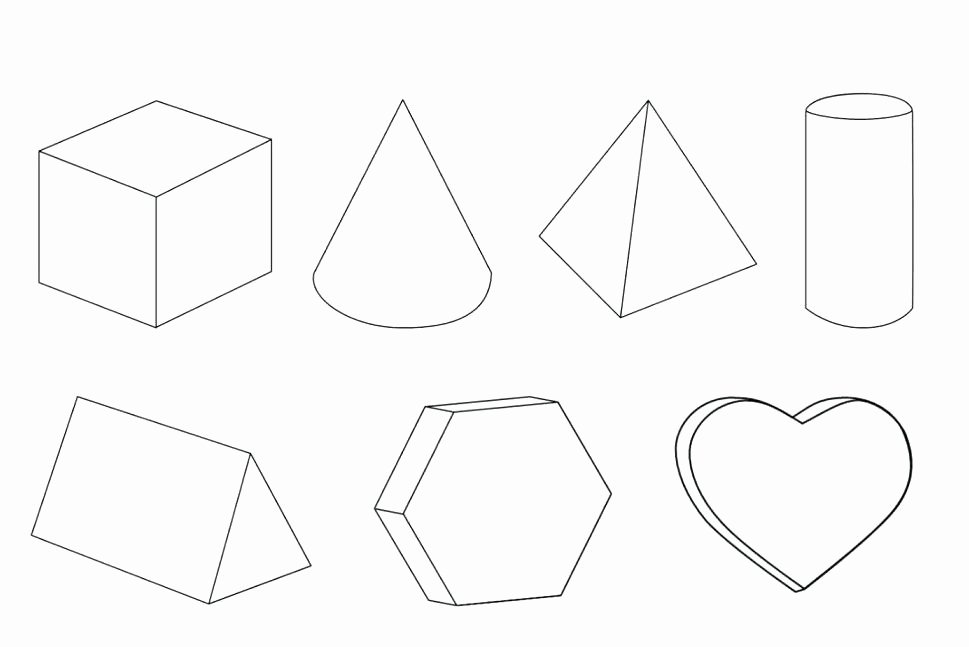 Triangle Worksheet for Kindergarten Geometrical Shapes for Kindergarten Coloring Worksheet