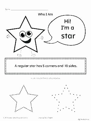Triangle Worksheet for Kindergarten Learning Shapes Worksheets