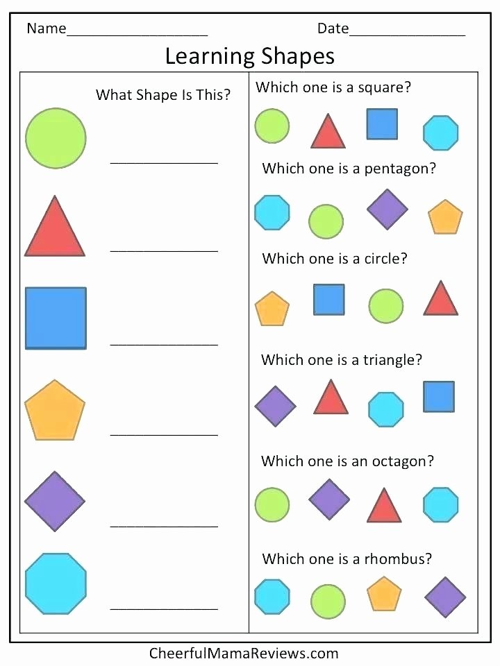 Triangle Worksheet for Kindergarten Pentagon Worksheets for Preschool