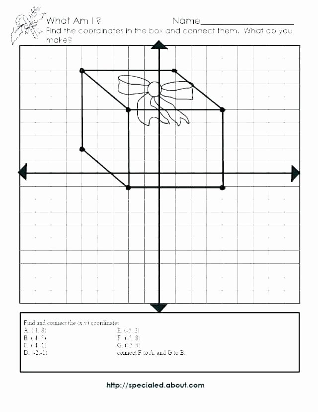 mystery graph picture worksheets ordered pair art coordinate grid middle school plane plotting mystery graph worksheets mystery graph picture worksheets