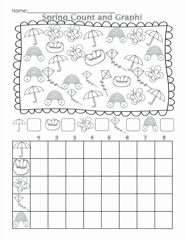 Turkey Graphing Worksheet Kindergarten Math Graphing Worksheets Spring Graph Worksheet