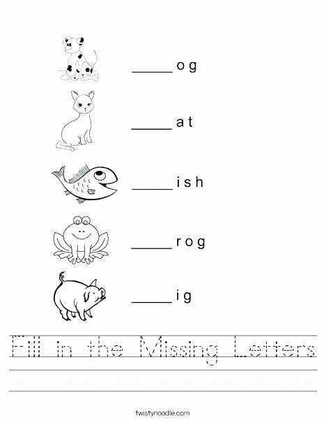 Twisty Noodle Letters Three Letter Consonant Blends Worksheets
