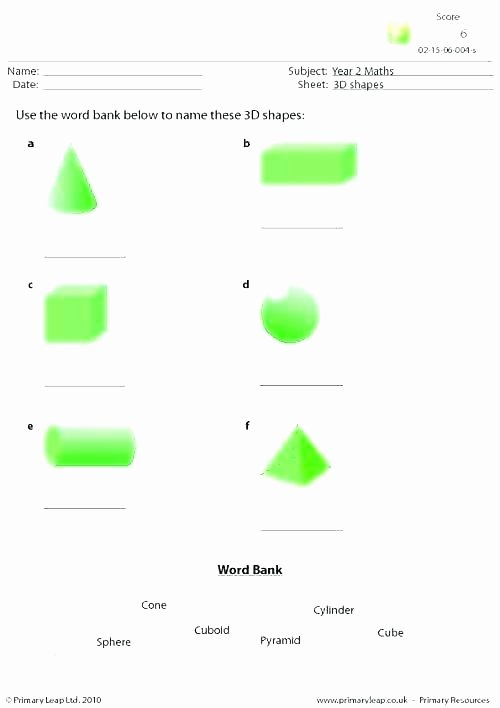 Two Dimensional Shapes Worksheet Beautiful Polygon Worksheets 3rd Grade
